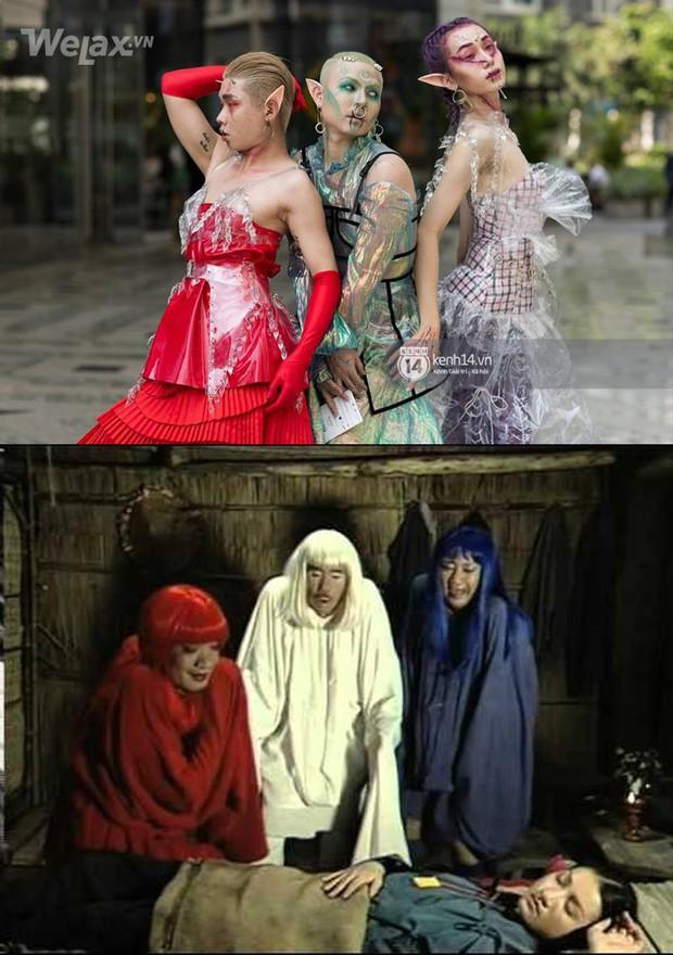 Xem giới trẻ Việt lên đồ sương sương đi Tuần lễ Cosplay thời trang và những bản gốc này - Ảnh 1.