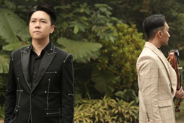Gần 3 tháng sau kết hôn, Lê Hiếu khoe giọng hát đầy cảm xúc trong MV kết hợp cùng nghệ sĩ violon Hoàng Rob - Ảnh 3.