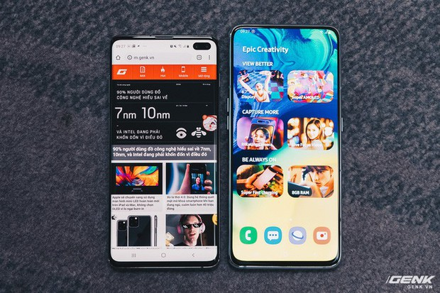 Đây là Samsung Galaxy A80: Camera xoay lật, màn hình New Infinity không tai thỏ, camera 48MP - Ảnh 8.