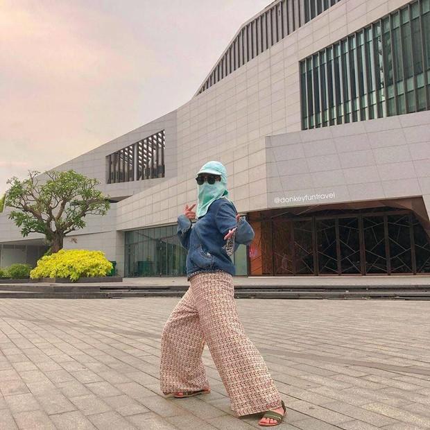 Ninja không xe tay ga: Vẫn cứ ngầu vì phong cách chụp ảnh check-in không đụng hàng - Ảnh 7.