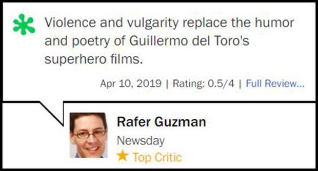 Nhận điểm bình chọn thấp tệ hại, Hellboy ôm về danh hiệu phim chuyển thể tệ nhất lịch sử - Ảnh 4.