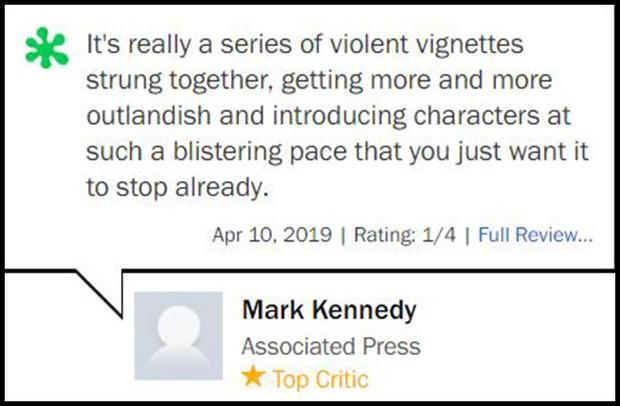 Nhận điểm bình chọn thấp tệ hại, Hellboy ôm về danh hiệu phim chuyển thể tệ nhất lịch sử - Ảnh 6.