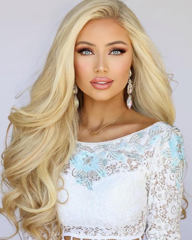 Thí sinh Hoa hậu Mỹ 2019 gây sốt với vẻ đẹp Barbie sống nhưng nhan sắc của dàn chị em ruột còn đáng chú ý hơn cả - Ảnh 7.