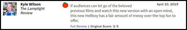 Nhận điểm bình chọn thấp tệ hại, Hellboy ôm về danh hiệu phim chuyển thể tệ nhất lịch sử - Ảnh 9.