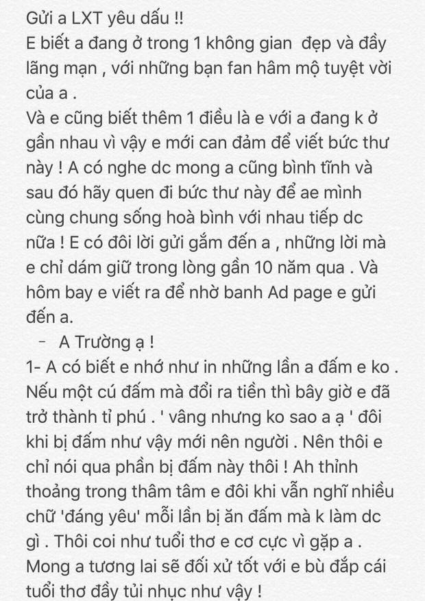 Văn Toàn viết tâm thư cho Xuân Trường: Nếu mỗi cú đấm của anh đổi ra tiền thì em đã thành tỉ phú - Ảnh 1.