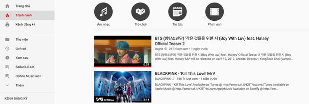Cuối cùng chuỗi ngày trị vì No 1 trending Youtube Việt Nam của BlackPink đã khép lại, nhường cho... teaser của BTS - Ảnh 5.