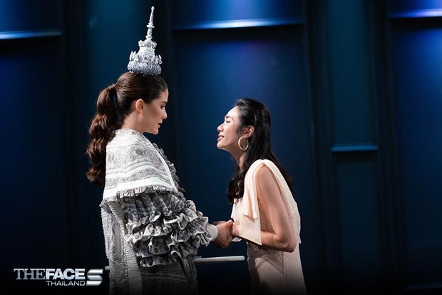 The Face Thailand: Maria chơi trội như Võ Hoàng Yến, mặc luôn trang phục truyền thống vào phòng loại - Ảnh 5.