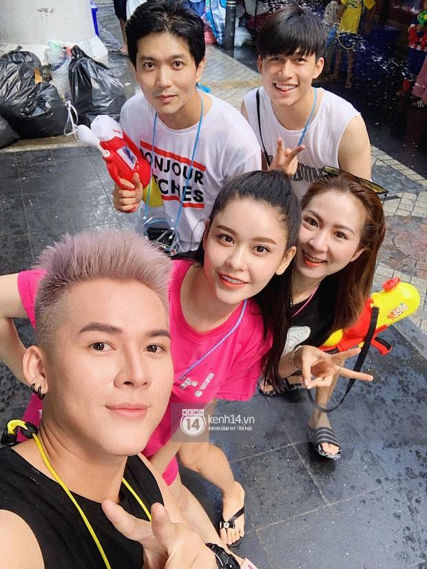 Tim và Trương Quỳnh Anh thân thiết đi Tết Thái cùng nhau sau ly hôn  - Ảnh 2.