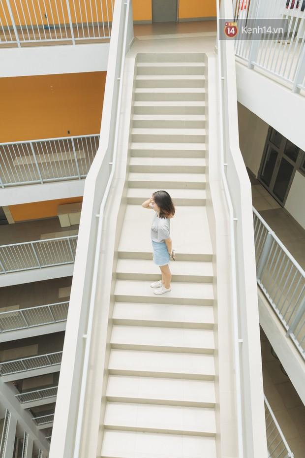 Thiên đường sống ảo mới ở Sài Gòn gọi tên ĐH Văn Lang: Đẹp như trung tâm thương mại, lên hình lung linh bất chấp mọi ngóc ngách - Ảnh 8.