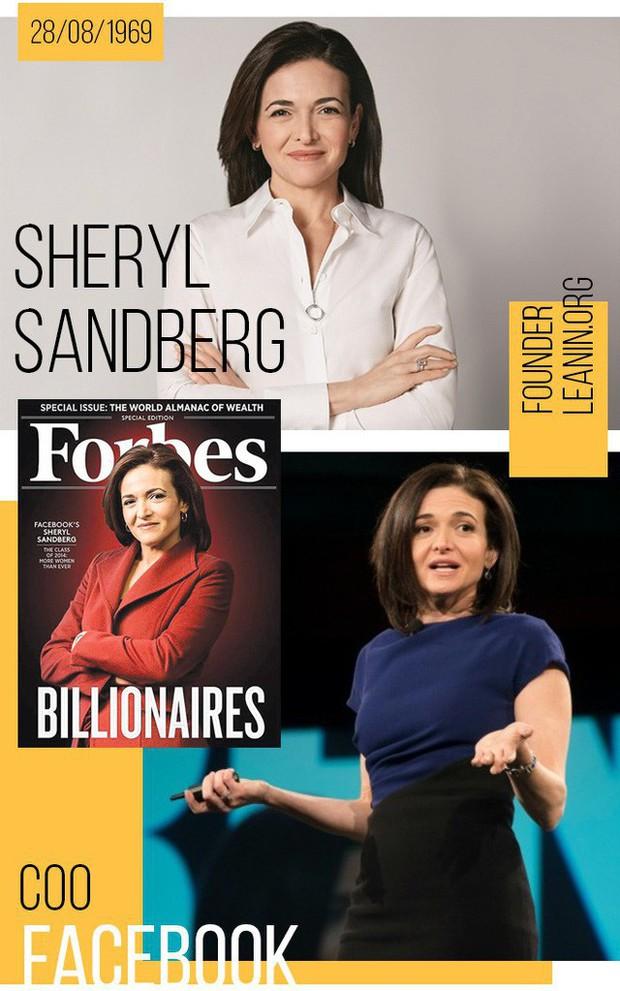 """Sheryl Sandberg và chuyện """"đi ngược"""" để chứng minh: Phụ nữ có thể thành công ở thánh địa của đàn ông! - Ảnh 9."""