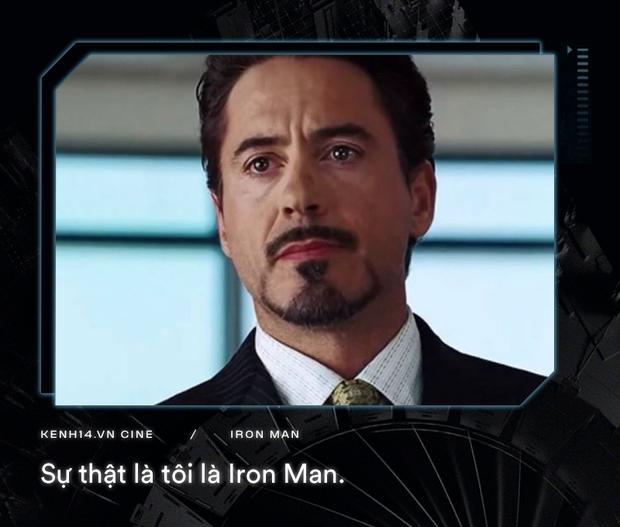 Hơn cả thập kỉ mặc giáp, gia tài của Iron Man là 9 câu thoại cực chất! - Ảnh 1.