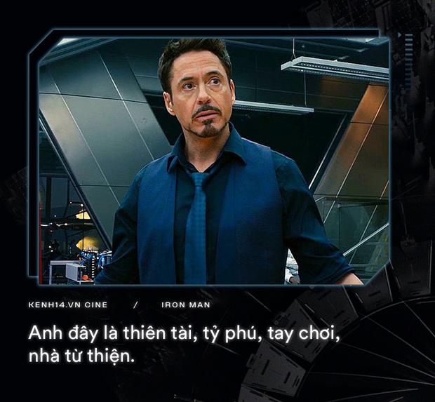 Hơn cả thập kỉ mặc giáp, gia tài của Iron Man là 9 câu thoại cực chất! - Ảnh 3.