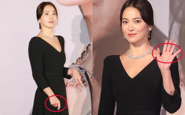 Lộng lẫy nhưng vừa dừ vừa tăng cân tại sự kiện hiếm hoi, Song Hye Kyo còn gây thất vọng vì nhẫn cưới mất hút - Ảnh 6.