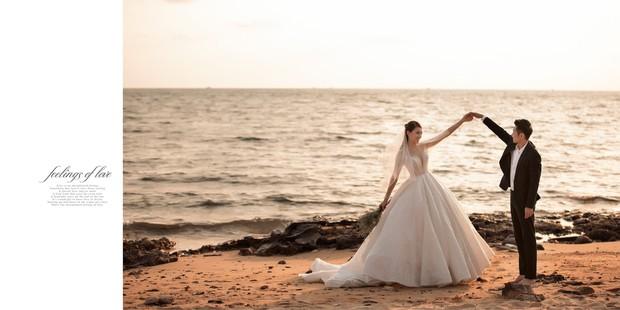Cận ngày trọng đại, Lê Hà tung trọn bộ ảnh cưới lãng mạn chẳng kém phim Hàn cùng hôn phu điển trai - Ảnh 15.