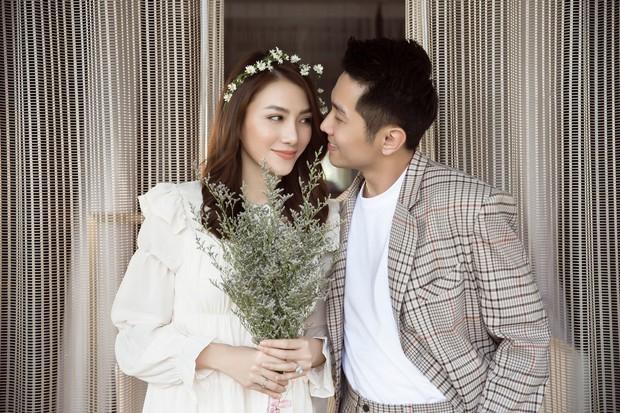 Cận ngày trọng đại, Lê Hà tung trọn bộ ảnh cưới lãng mạn chẳng kém phim Hàn cùng hôn phu điển trai - Ảnh 13.
