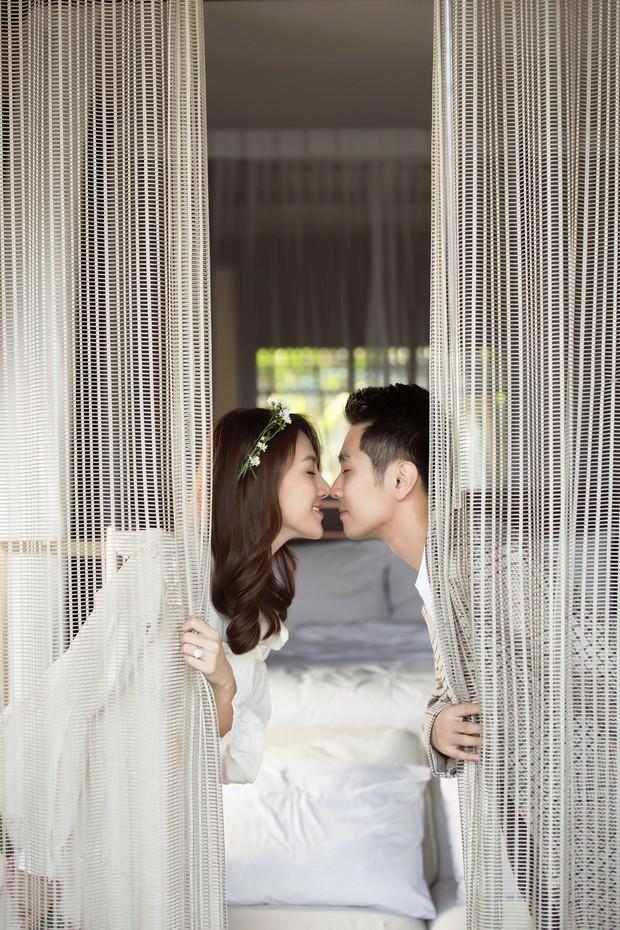 Cận ngày trọng đại, Lê Hà tung trọn bộ ảnh cưới lãng mạn chẳng kém phim Hàn cùng hôn phu điển trai - Ảnh 11.