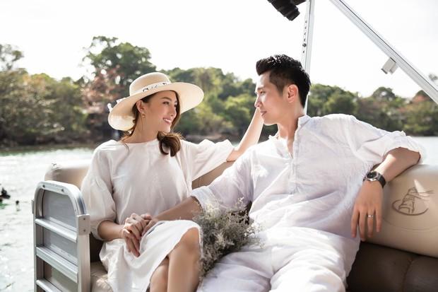 Cận ngày trọng đại, Lê Hà tung trọn bộ ảnh cưới lãng mạn chẳng kém phim Hàn cùng hôn phu điển trai - Ảnh 9.