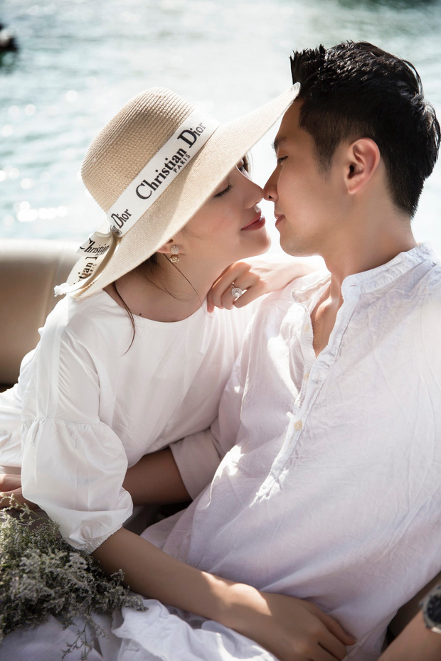 Cận ngày trọng đại, Lê Hà tung trọn bộ ảnh cưới lãng mạn chẳng kém phim Hàn cùng hôn phu điển trai - Ảnh 8.