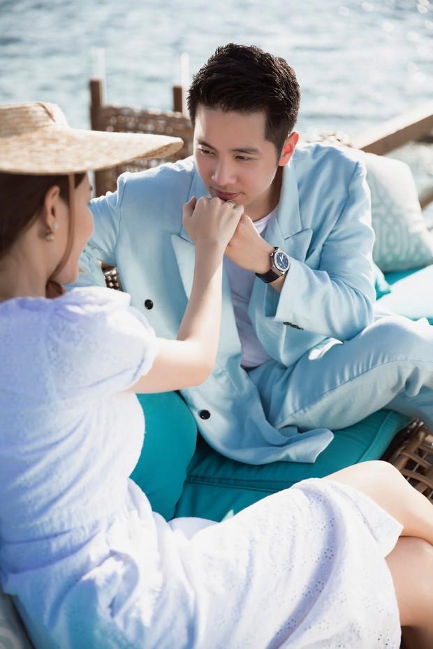 Cận ngày trọng đại, Lê Hà tung trọn bộ ảnh cưới lãng mạn chẳng kém phim Hàn cùng hôn phu điển trai - Ảnh 7.