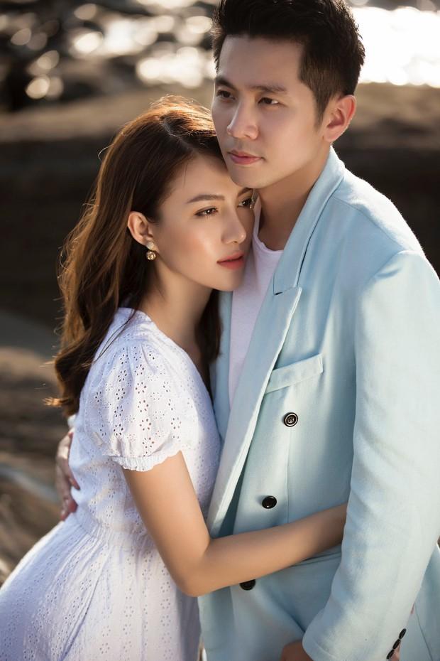 Cận ngày trọng đại, Lê Hà tung trọn bộ ảnh cưới lãng mạn chẳng kém phim Hàn cùng hôn phu điển trai - Ảnh 2.