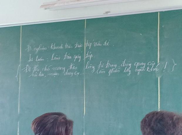 Buông nhẹ 1 câu cuối đề kiểm tra, giáo viên khiến học sinh sợ xanh mắt tắt ngấm ý định quay cóp hỏi bài - Ảnh 2.