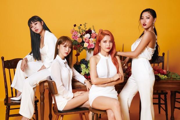 BXH girlgroup hot nhất: Black Pink chễm chệ ở ngôi vương, bất ngờ hơn là màn hoán đổi vị trí ngoạn mục ở top 10 - Ảnh 5.