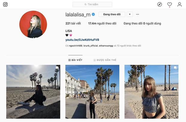 Chỉ mất 10 tháng, Lisa (Black Pink) đã lật đổ Chanyeol (EXO) để lên ngôi bà hoàng Instagram của Kpop! - Ảnh 2.