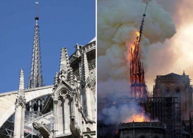 Rùng mình trước lời tiên tri cách đây 15 năm về đám cháy ở Nhà Thờ Đức Bà Paris hôm nay! - Ảnh 1.