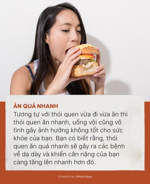 Đừng để sức khoẻ bị tàn phá nhanh chóng bởi những thói quen ăn uống sai lầm này - Ảnh 5.