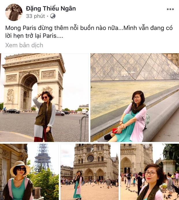 """Giới trẻ Việt đồng loạt đăng status xót xa khi thấy Nhà thờ Đức Bà Paris cháy: """"Cuộc hẹn với nước Pháp đã không còn vẹn nguyên!"""" - Ảnh 13."""