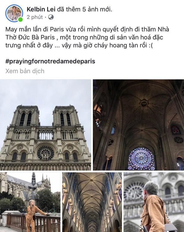 """Giới trẻ Việt đồng loạt đăng status xót xa khi thấy Nhà thờ Đức Bà Paris cháy: """"Cuộc hẹn với nước Pháp đã không còn vẹn nguyên!"""" - Ảnh 1."""