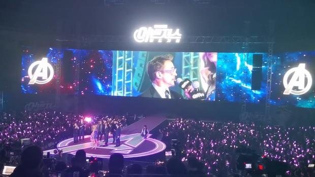 Choáng với cảnh tượng dàn sao Avengers đến Hàn: Quy mô khủng như concert, khiến idol Kpop cũng phải kiêng dè - Ảnh 4.