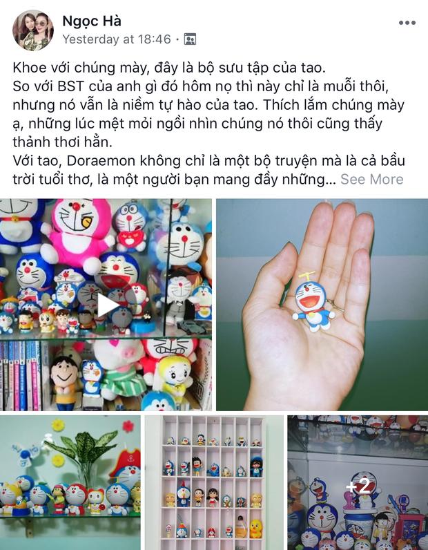Cô gái dành cả thanh xuân để sưu tập Doraemon mặc cho gia đình và bạn bè giục lấy chồng - Ảnh 1.