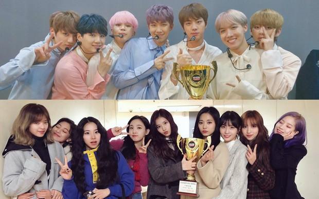 Chỉ với album tiếng Hàn, BTS lập chiến công mới, TWICE phá kỉ lục 9 năm của SNSD trên đất Nhật - Ảnh 3.
