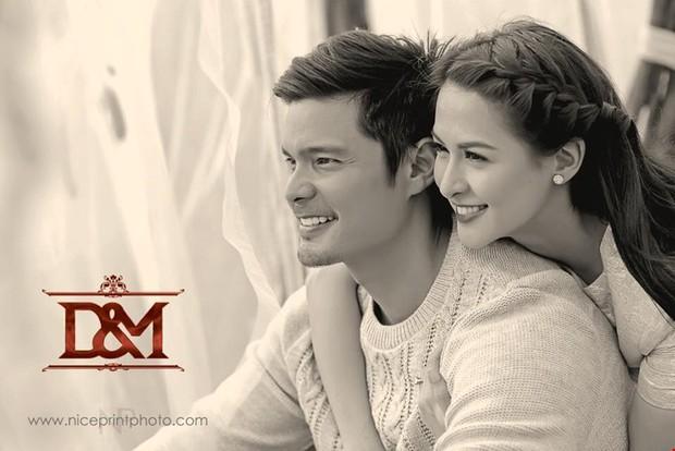 Cơn sốt vợ chồng mỹ nhân đẹp nhất Philippines: Yêu tựa phim, cưới như hoàng gia, 2 thiên thần nhỏ vừa ra đời đã quá nổi - Ảnh 4.