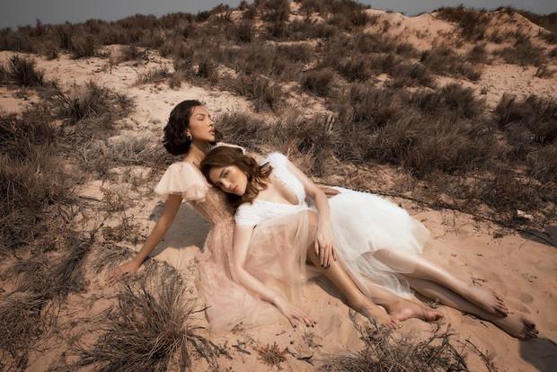 Kỳ Duyên và Minh Triệu ngày càng gắn bó, ôm ấp cực tình tứ giữa sa mạc - Ảnh 9.