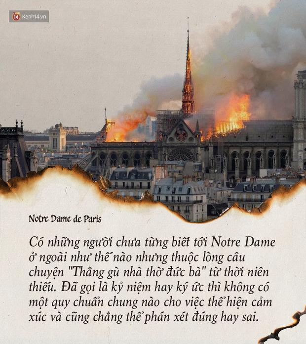 Notre Dame hay câu chuyện về quan điểm cá nhân và quyền phán xét - Ảnh 2.