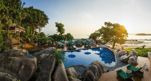 Top bể bơi vô cực đẹp nhất châu Á: Một khách sạn ở Cam Ranh được vinh danh, không thua kém đại diện từ Bali hay Maldives - Ảnh 9.