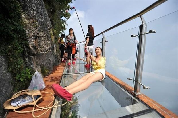 """Thực hư thông tin xuất hiện cây cầu kính nối liền Sa Pa và Lai Châu có tên là Hảo Hán Kiều khiến giới trẻ """"rần rần"""" mấy ngày qua - Ảnh 3."""