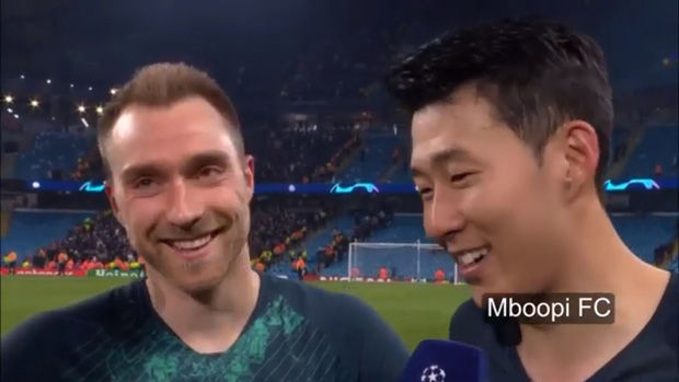 Son Heung-min sung sướng đến nỗi loạn ngôn sau khi loại Man City khỏi Champions League - Ảnh 2.