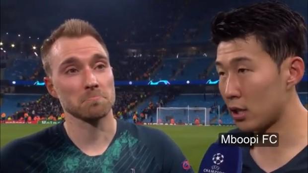 Son Heung-min sung sướng đến nỗi loạn ngôn sau khi loại Man City khỏi Champions League - Ảnh 1.