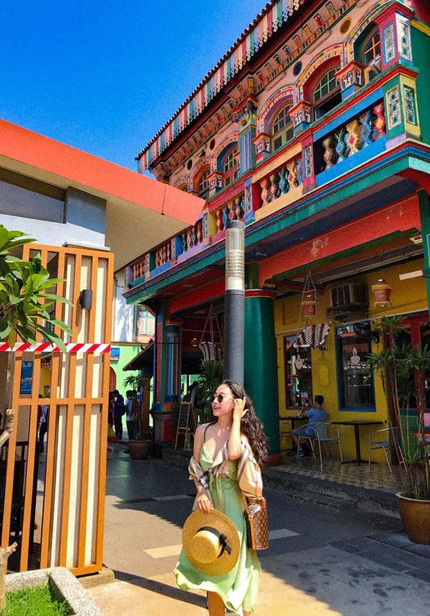 Đứng hình 5s với loạt background bảy sắc cầu vồng trong bộ ảnh du lịch Singapore của cô bạn người Việt xinh như hotgirl  - Ảnh 10.