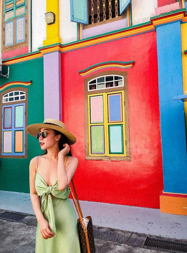 Đứng hình 5s với loạt background bảy sắc cầu vồng trong bộ ảnh du lịch Singapore của cô bạn người Việt xinh như hotgirl  - Ảnh 9.