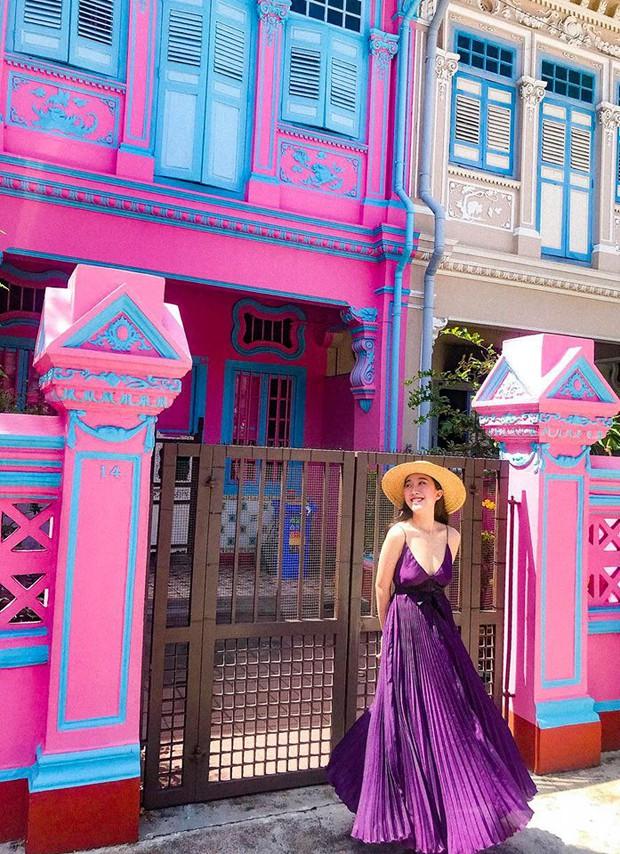 Đứng hình 5s với loạt background bảy sắc cầu vồng trong bộ ảnh du lịch Singapore của cô bạn người Việt xinh như hotgirl  - Ảnh 8.