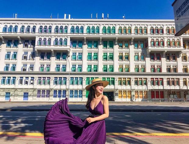 Đứng hình 5s với loạt background bảy sắc cầu vồng trong bộ ảnh du lịch Singapore của cô bạn người Việt xinh như hotgirl  - Ảnh 1.