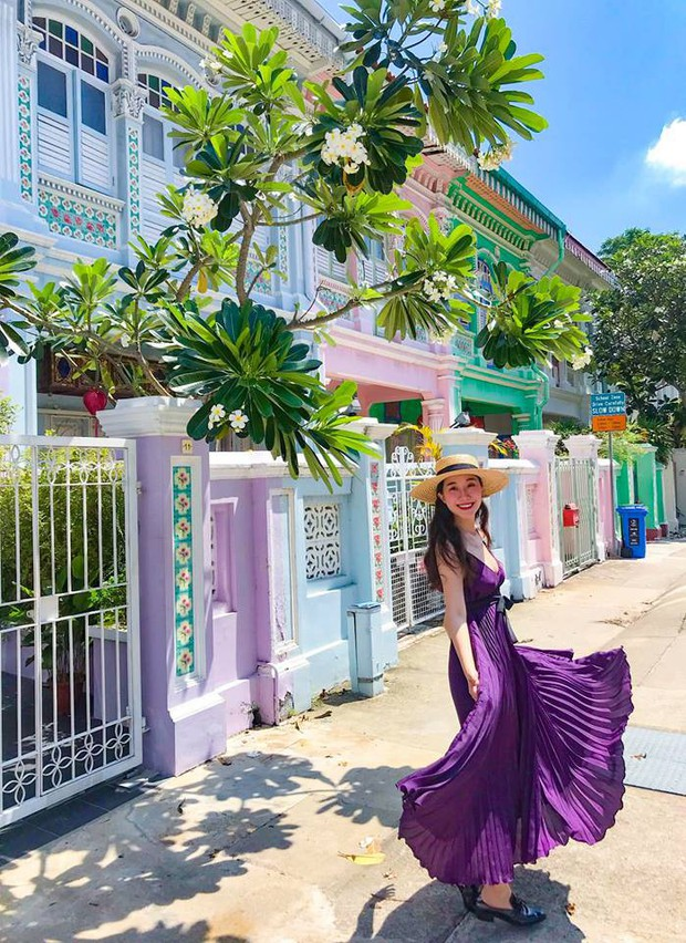 Đứng hình 5s với loạt background bảy sắc cầu vồng trong bộ ảnh du lịch Singapore của cô bạn người Việt xinh như hotgirl  - Ảnh 7.