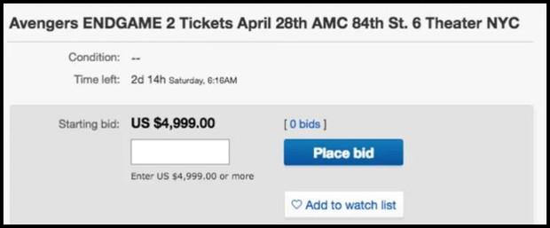 Chi hẳn 300 triệu/cặp cho vé chợ đen Endgame, chỉ fan Marvel mới chơi lớn đến tầm này! - Ảnh 3.