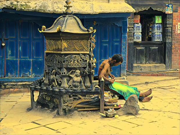 Ngỡ ngàng với một Nepal bình yên và giản dị qua bộ ảnh chụp bằng điện thoại của nhiếp ảnh gia Briman Shrestha - Ảnh 22.