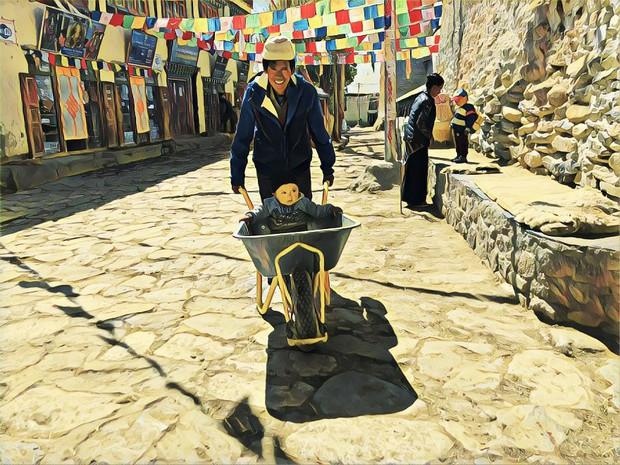 Ngỡ ngàng với một Nepal bình yên và giản dị qua bộ ảnh chụp bằng điện thoại của nhiếp ảnh gia Briman Shrestha - Ảnh 8.
