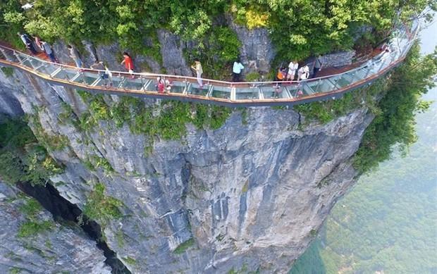 """Thực hư thông tin xuất hiện cây cầu kính nối liền Sa Pa và Lai Châu có tên là Hảo Hán Kiều khiến giới trẻ """"rần rần"""" mấy ngày qua - Ảnh 5."""